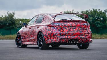 2022 Honda Civic Type R prototype