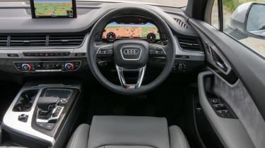 Audi Q7 S Line interior