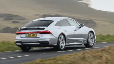 Audi A7 Sportback hatchback rear driving