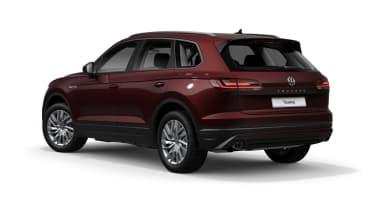 Volkswagen Touareg SE - rear