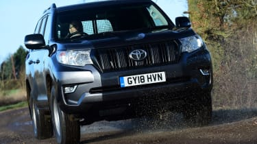 Toyota Land Cruiser Utility front driving