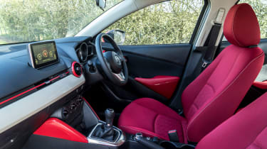 The interior is great and feels exceptionally well built