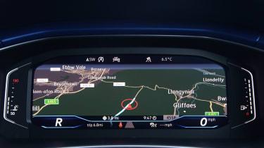 Volkswagen T-Roc R digital dashboard