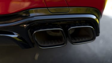 Mercedes-AMG E 63 estate exhausts