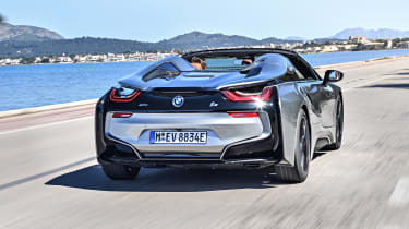 Some may find the i8's slightly arcade-game feel a little unnatural...