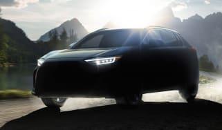 2022 Subaru Solterra - front 3/4