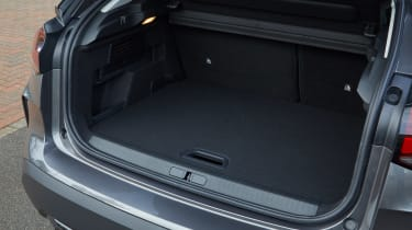 Citroen e-C4 hatchback boot