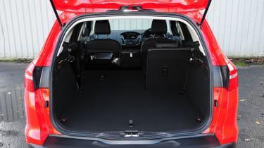 With 476-litres of space behind the rear seats, the Focus Estate isn't class-leading, but still has lots of space