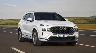 2020 Hyundai Santa Fe driving