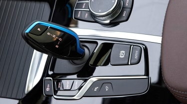 BMW iX3 SUV gear selector