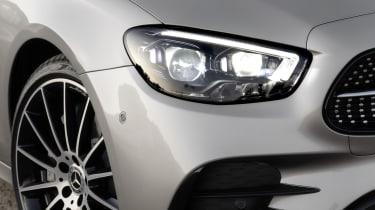 Mercedes E-Class - front headlight close