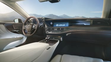 A host of sensors measure the car's acceleration and braking, as well as the g-forces being generated