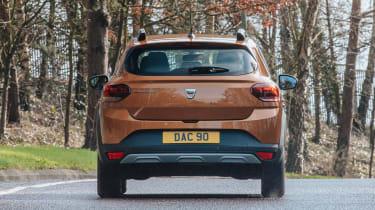 Dacia Sandero Stepway hatchback rear view