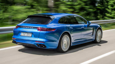 Despite its economy, the Sport Turismo 4 E-Hybrid can also get from 0-62mph in just 4.6 seconds