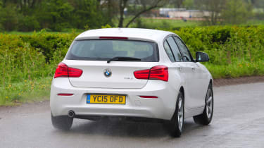 With standard rear-wheel-drive, the 1 Series is favoured by driving enthusiasts