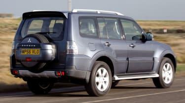 Mitsubishi Shogun rear