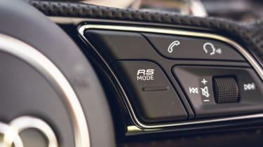 Audi RS4 Avant estate steering wheel