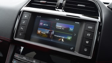 It also comes with the latest-generation of the company's InControl Touch infotainment system