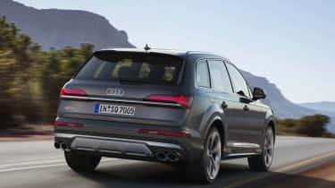 Audi SQ7 TDI - Rear 3/4 dynamic view