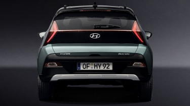 Hyundai Bayon rear end