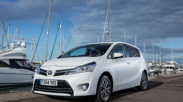 There's a choice of petrol or diesel engines, but – strangely for Toyota – no hybrid
