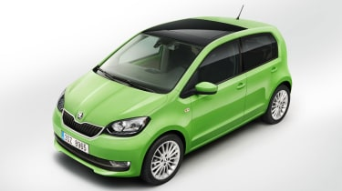 Exterior changes to the new Citigo are minor