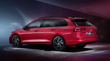 2020 Volkswagen Golf Estate R-Line rear