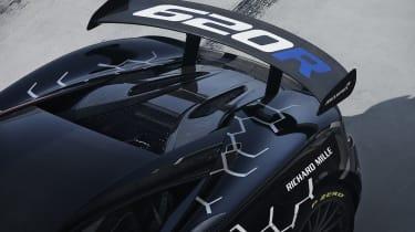McLaren 620R - rear spoiler close-up