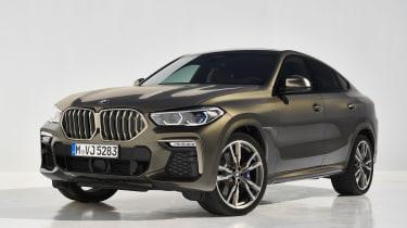 2019 BMW X6 - front static studio shot