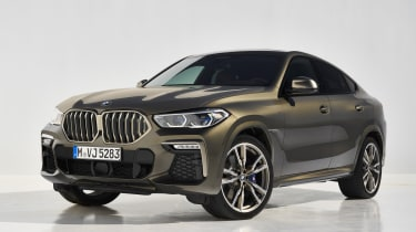 2019 BMW X6 - front static studio shot