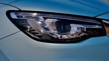 2020 MG HS plug-in hybrid headlight
