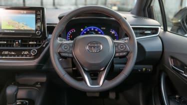 Toyota Corolla hatchback interior