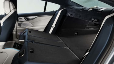 BMW 8 Series Gran Coupe - rear seats folded