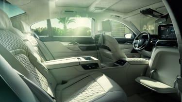 Alpina B7 rear seats