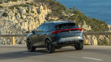 2020 Cupra Formentor SUV  - rear quarter