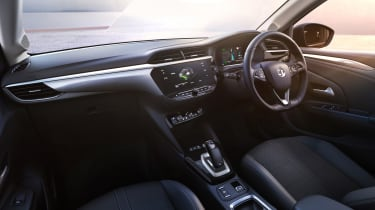 2020 Vauxhall Corsa-e - dashboard view from passenger seat