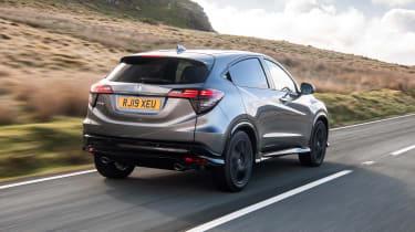 Honda HR-V SUV rear 3/4 tracking