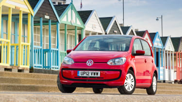 Thanks to its Volkswagen badge, the up! is also likely to hold its value better than some city cars