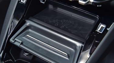 Peugeot 208 hatchback smartphone charging tray