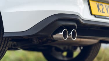 Volkswagen Golf GTD hatchback exhaust