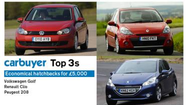 Top 3 economical hatchbacks header