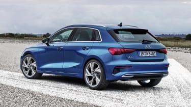 2020 Audi A3 Sportback - rear 3/4 static
