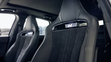Facelifted Hyundai i30 N seats