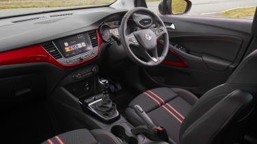 2021 Vauxhall Crossland SUV - interior