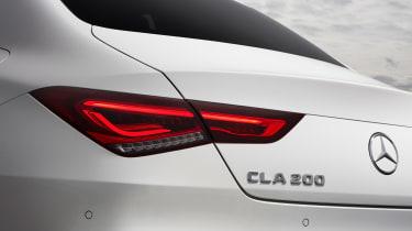 Mercedes CLA saloon rear lights