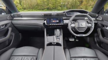 Peugeot 508 SW interior - black