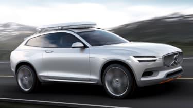 Volvo Concept XC Coupe profile action