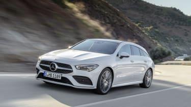 2019 Mercedes CLA Shooting Brake - driving