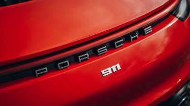 Porsche 911 coupe badge