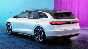 Volkswagen ID. Space Vizzion concept rear view - static